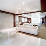 Yacht livingroom